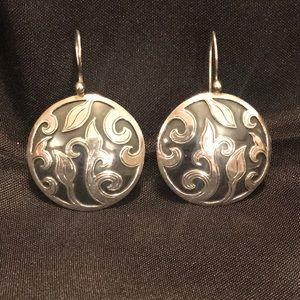 SILPADA .925 Sterling Scroll Earrings